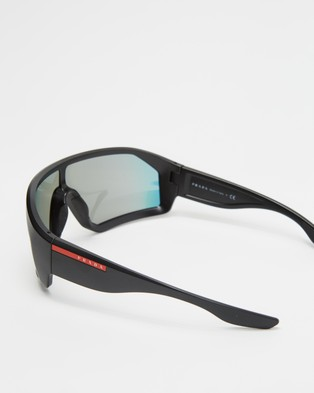Prada Linea Rossa 0PS 03VS - Sunglasses (Black)