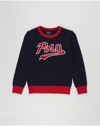 Polo Ralph Lauren - Knit Long Sleeve Sweater - Kids
