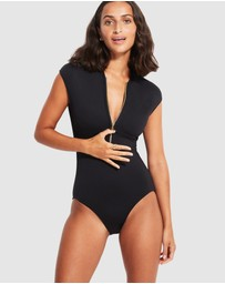 Seafolly - Seafolly Zip Front One Piece