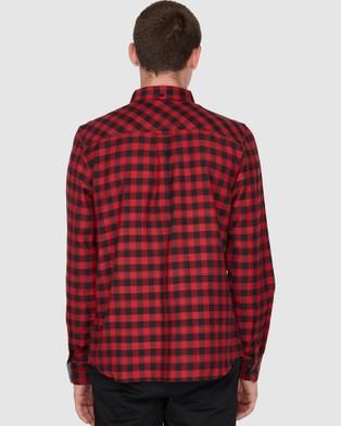 Element Goodwin Woven Shirt - Shirts & Polos (FLINT BLACK)