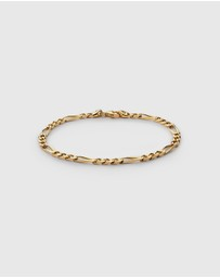 Miansai - 3mm Figaro Chain Bracelet