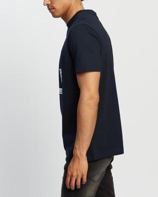 Henri Lloyd Square Tee - T-Shirts & Singlets (Navy Black)