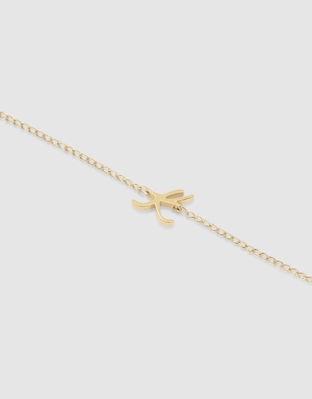 Women Love Letter 'K' Bracelet
