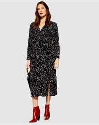 TOPSHOP Maternity - Ruched Midi Dress