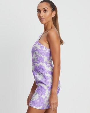 BWLDR Remy Dress - Dresses (Lilac Floral)