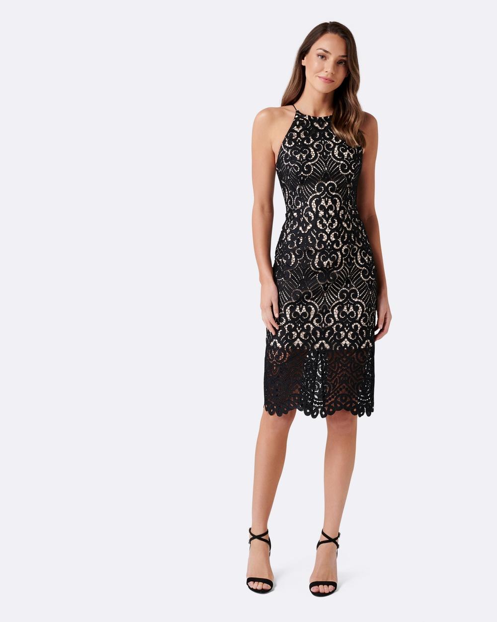 Forever New Debbie Lace Pencil Dress Bridesmaid Dresses Black Debbie Lace Pencil Dress