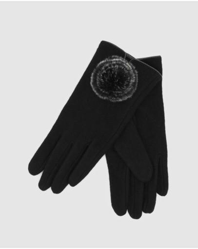 Morgan & Taylor Antonella Gloves Black