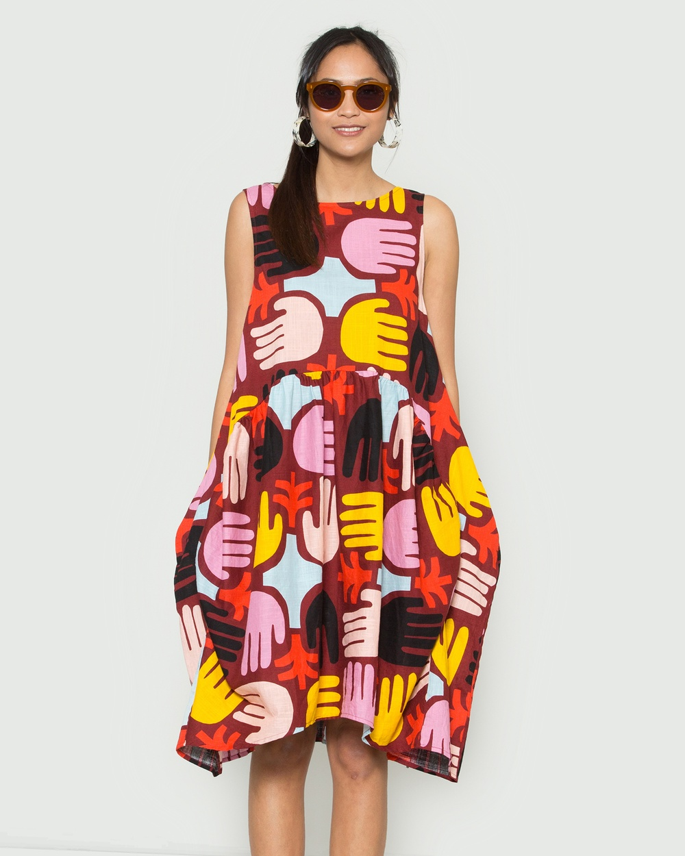 Gorman Multi Palm Farm Dress