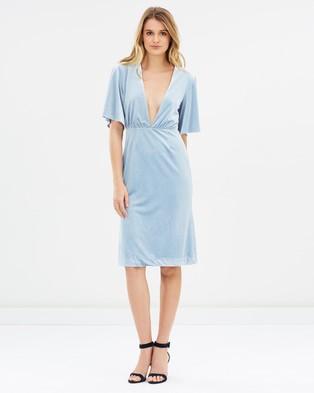 Isla – Insurgency Dress Dust Blue