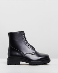 Wings + Horns - Officer Boots