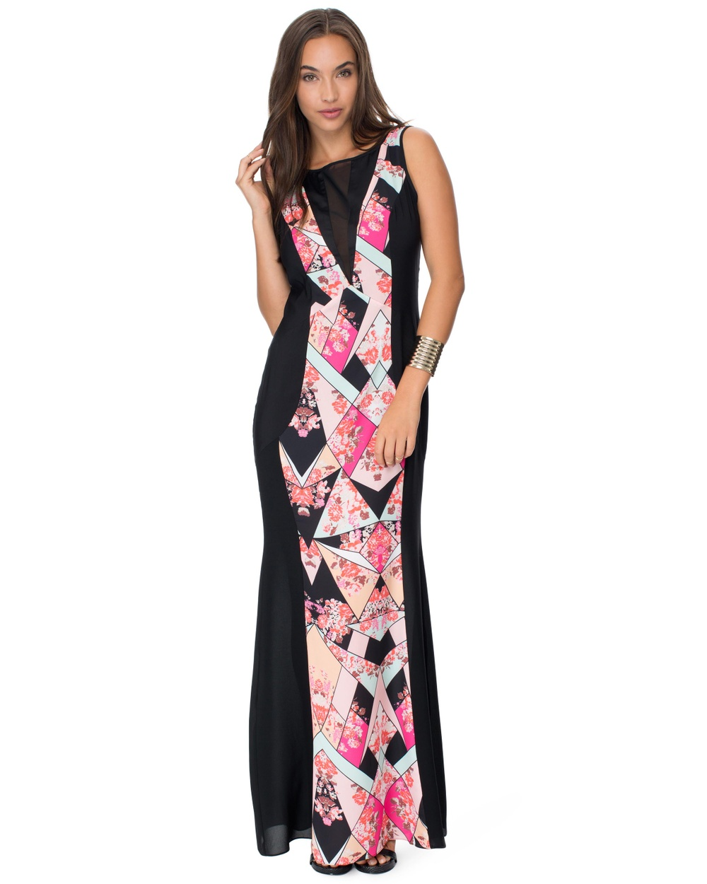 Honey and Beau Hazel Maxi Dress Dresses Print Hazel Maxi Dress