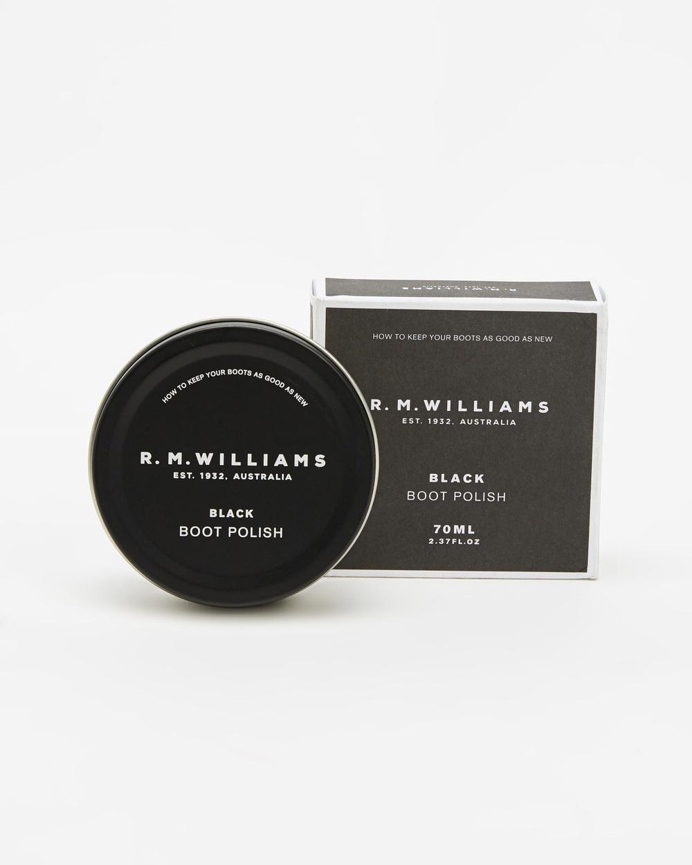 R.M.Williams Stockman's Boot Polish Accessories Black