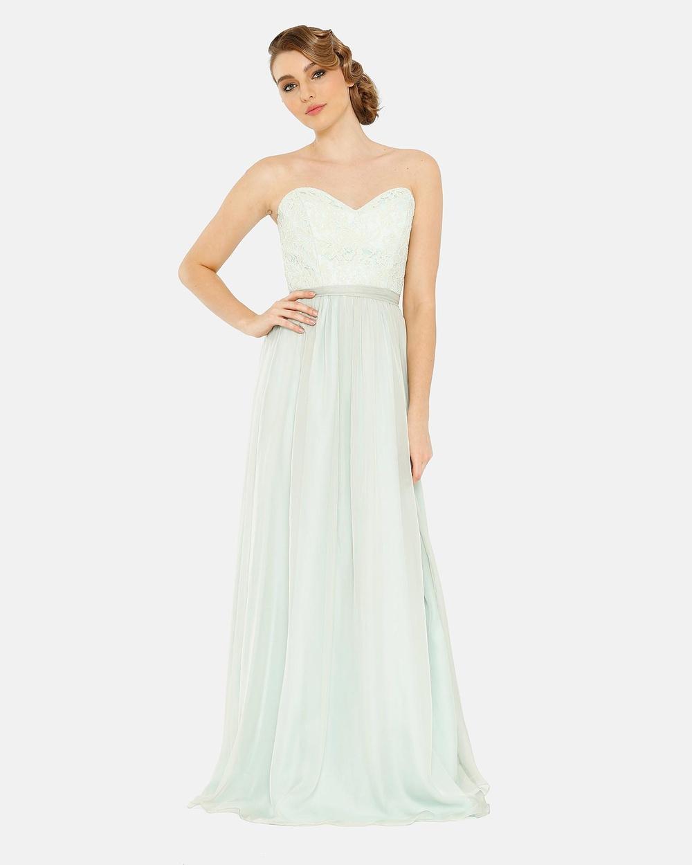 Tania Olsen Designs Chantelle Dress Bridesmaid Dresses Mint Chantelle Dress