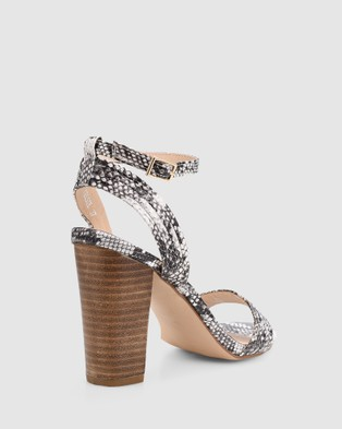 Verali Celsie - Heels (Natural Snake)