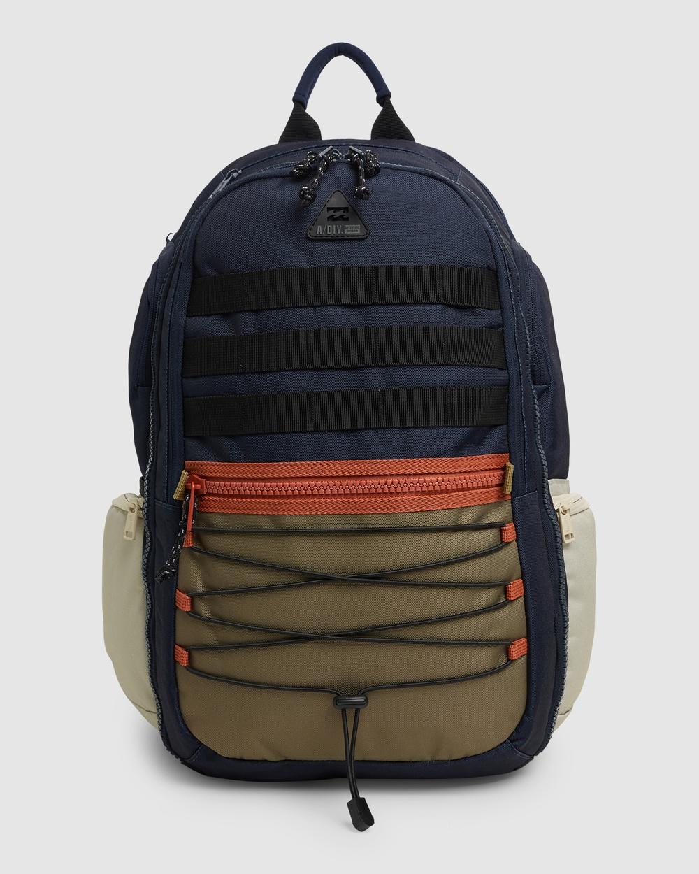 Billabong Adventure Division Combat Backpack Outdoors NAVY