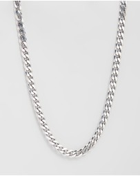 Heart of Bone - Chunky Chain Necklace