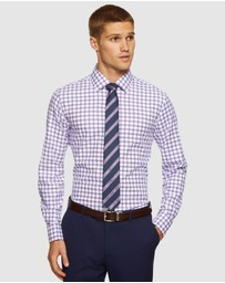 Oxford - Beckton French Cuff Checked Shirt