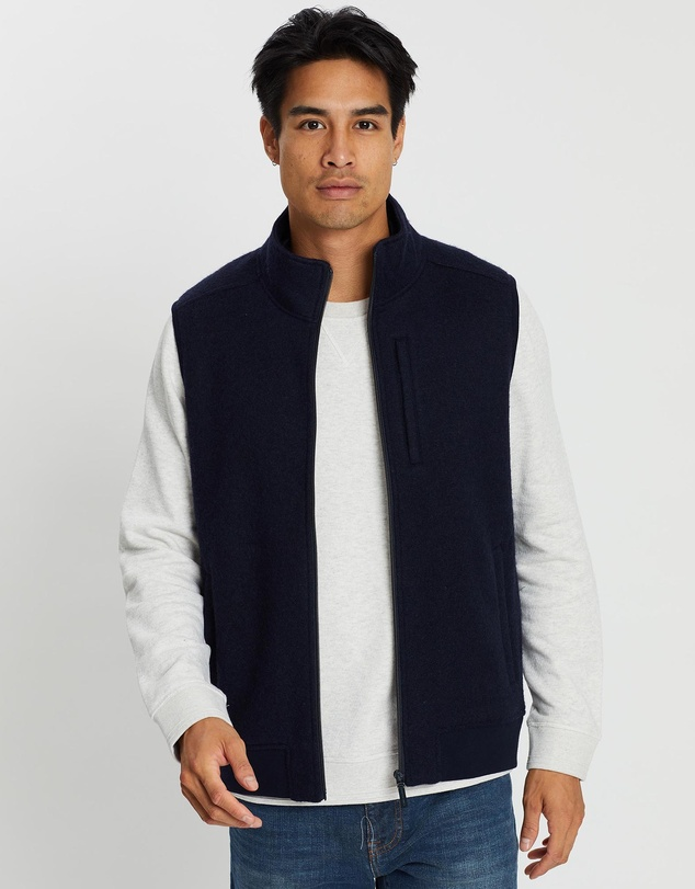 Sportscraft - Sandford Wool Fleece Vest