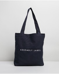 Assembly Label - Logo Tote Bag