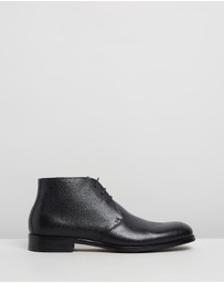 Double Oak Mills - Martin Leather Dress Boots