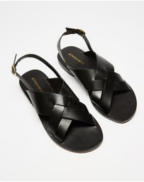 Atmos&Here - Achilles Leather Sandals