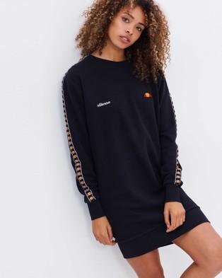Ellesse – Cappero Sweater Dress – Dresses (Anthracite)