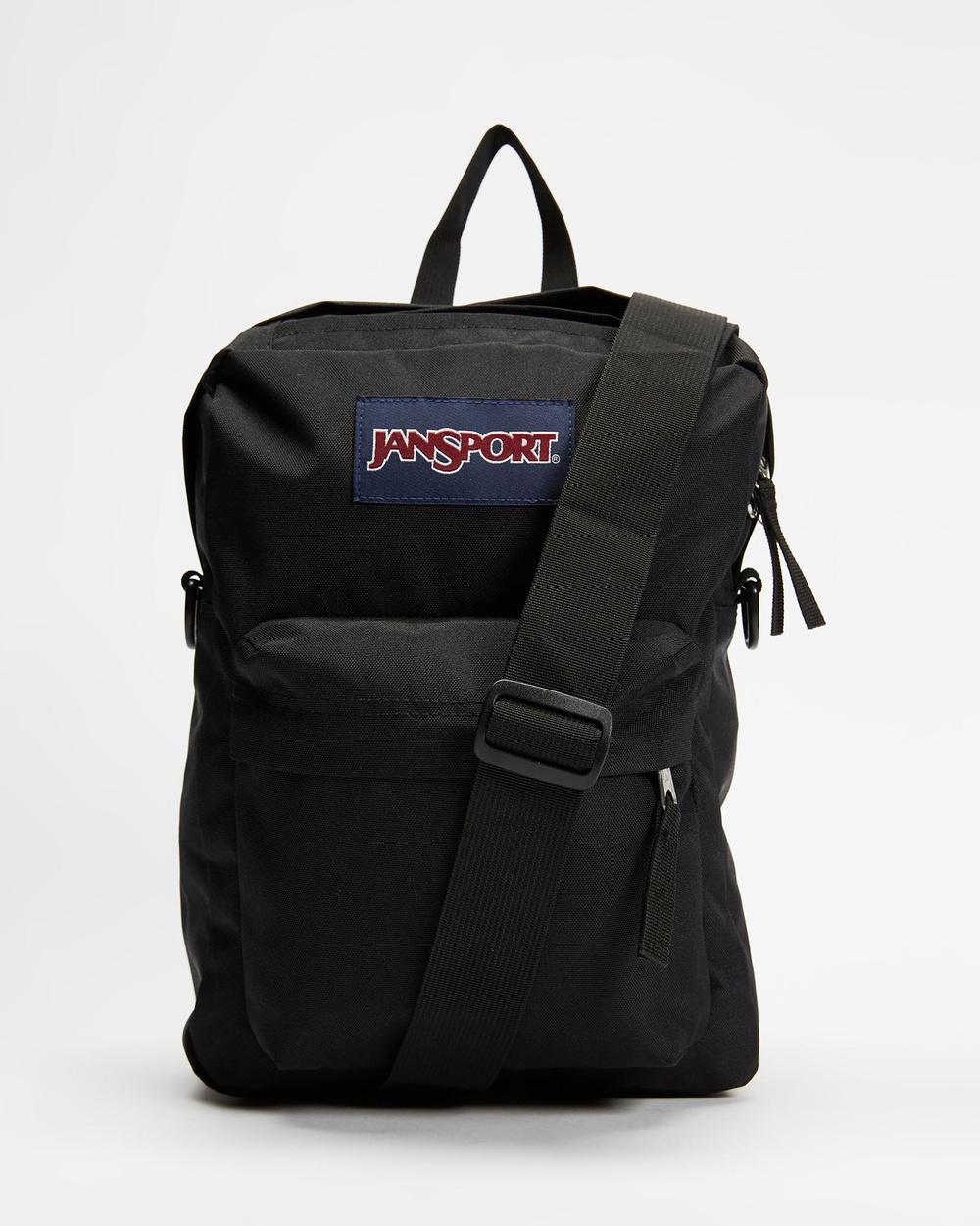 JanSport Colfax Crossbody Bag Bags Black