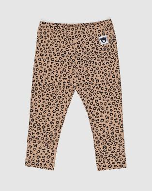 Huxbaby - Animal Leggings   Babies Kids - Pants (Caramel) Animal Leggings - Babies-Kids