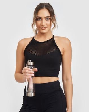 Miz Casa and Co Crystal Drink Bottle - Wellness (Rose Quartz)