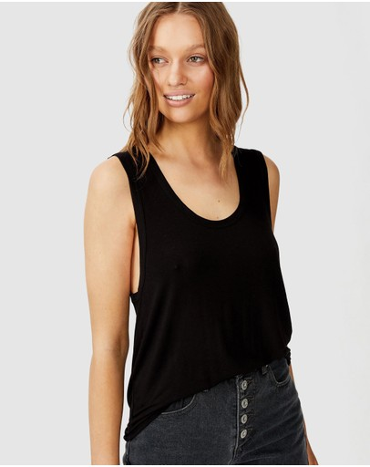 Cotton On - The Parker Scoop Tank