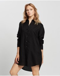 Assembly Label - Linen Shirt Dress