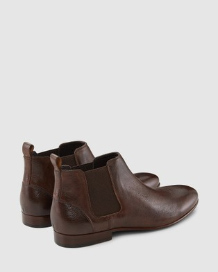 AQ by Aquila - Marty Chelsea Boots (Brown)