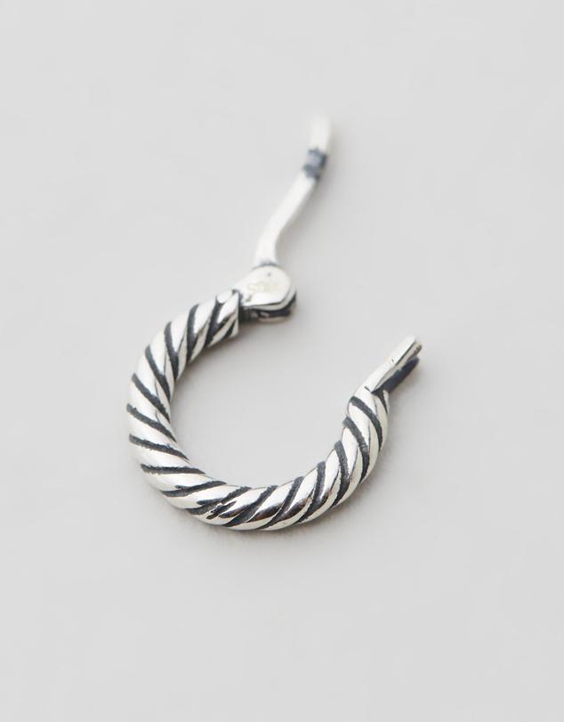Women Twist Hoop Earring
