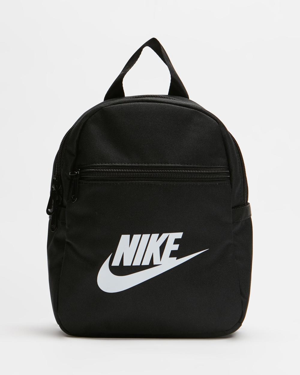 Nike Sportswear Futura 365 Mini Backpack Backpacks Black, Black & White