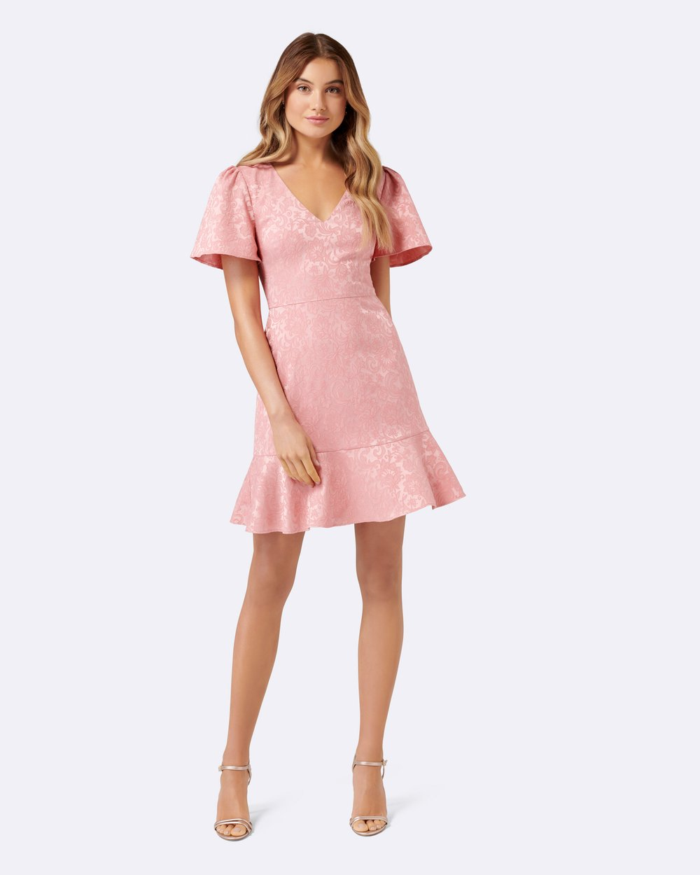 77bc0c02dbde Skye Jacquard Fit And Flare Dress by Forever New Online | THE ICONIC |  Australia