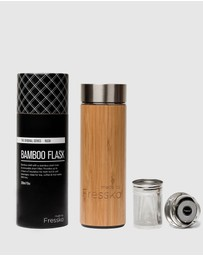 Fressko - Rush 300ml Bamboo Insulated  Flask
