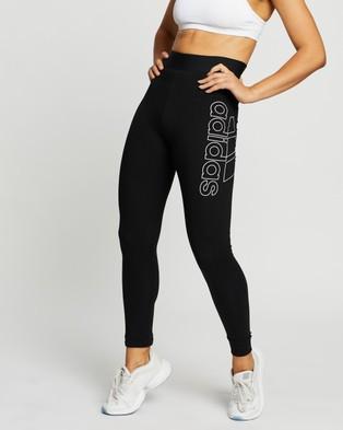 adidas Performance Big Badge of Sports Tights - Full Tights (Black)