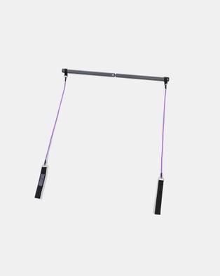 Gaiam Performance Pilates Bar Kit - Training Equipment (Grey)