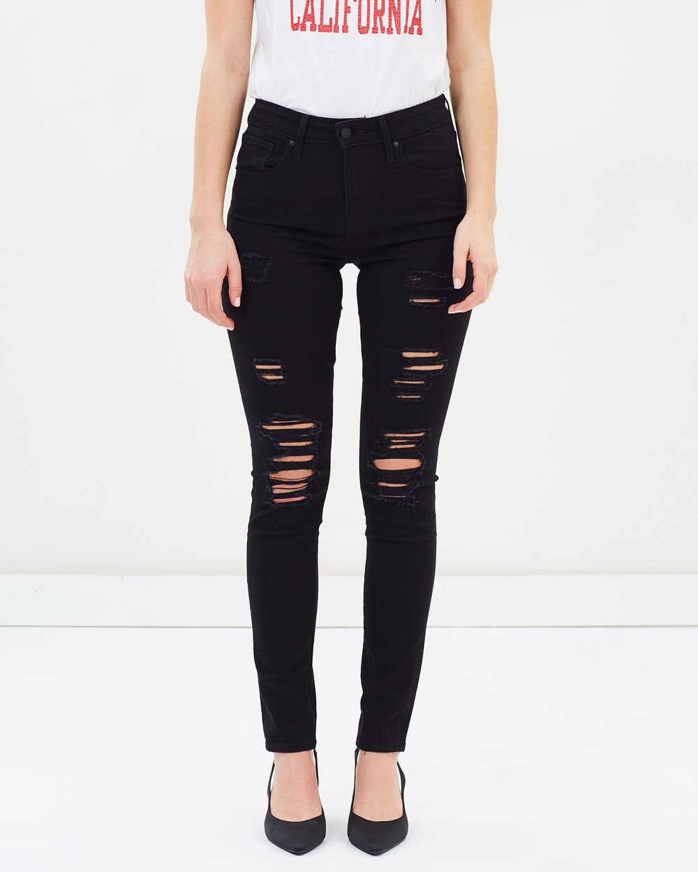 32713779156 721 High Rise Skinny Jeans by Levi's Online | THE ICONIC | Australia