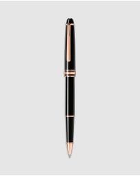 Montblanc - Meisterstück Rose Gold-Coated Classique Rollerball Pen