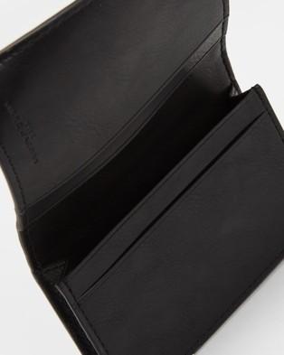 The Marc Jacobs Softshot Business Card Case - Wallets (Black)