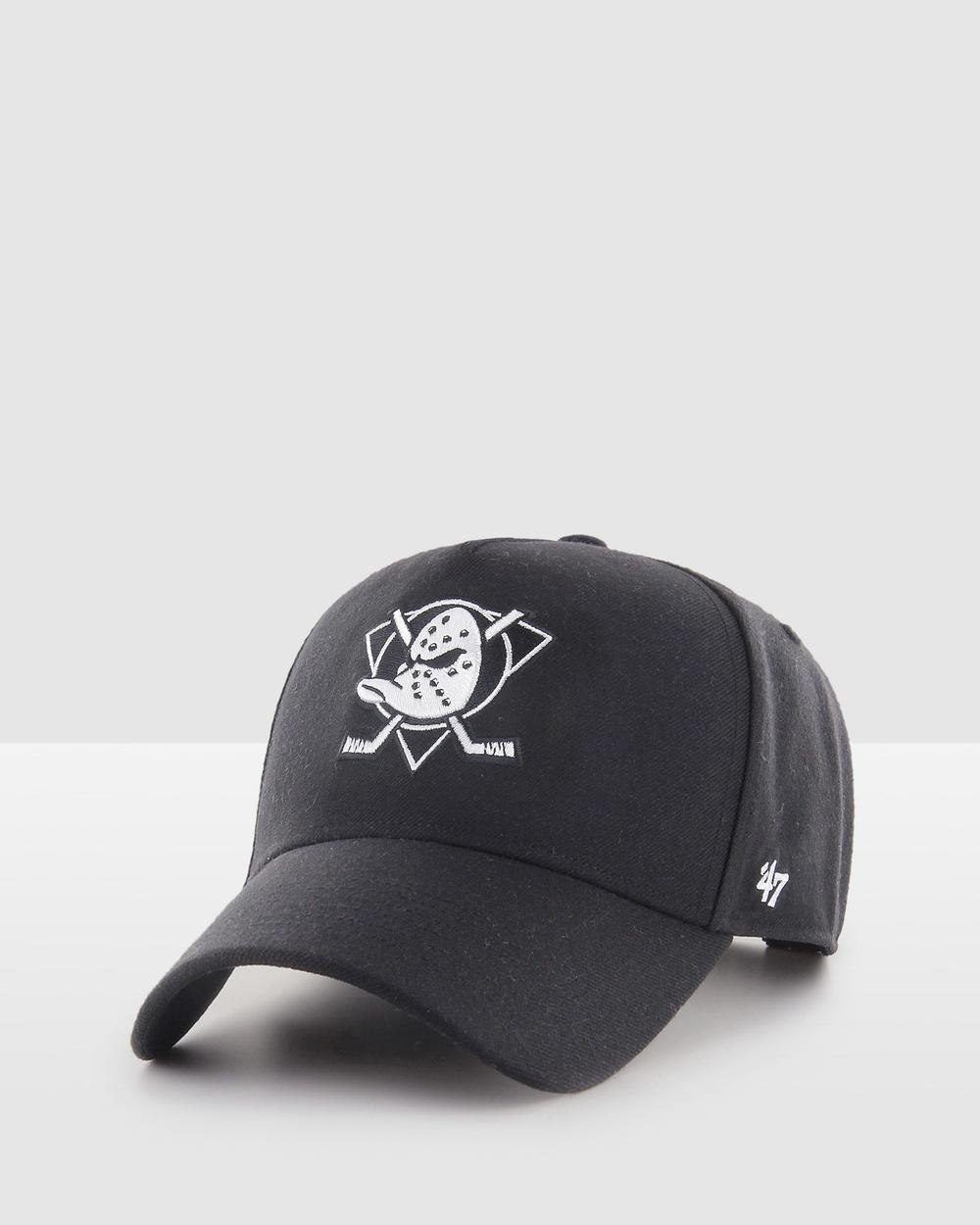 47 Anaheim Ducks Replica black '47 MVP DT Snapback Hats black