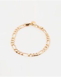 Chained & Able - Royal Figaro Chain Bracelet