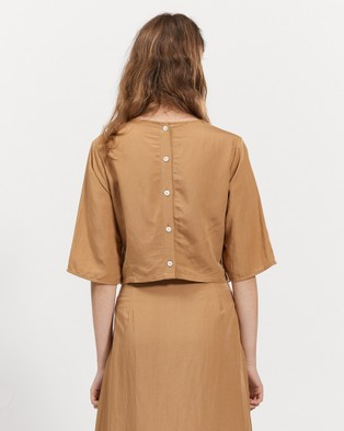 bul Leonard Top - Tops (Camel)