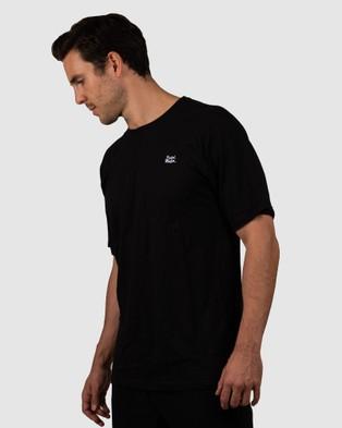 Pedal Mafia Pedal Mafia Double Stack Tee - Short Sleeve T-Shirts (Black)