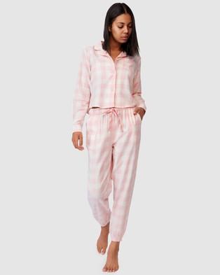 Cotton On Body Flannel Sleep Shirt - Sleepwear (Gingham Check)