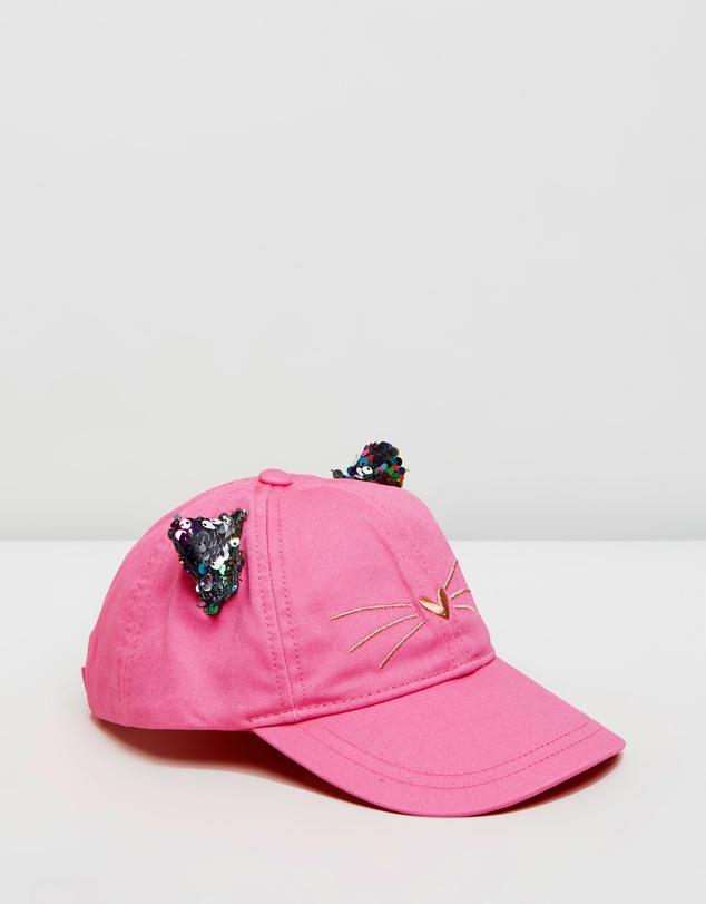 fa4d4f428 Cat Ears Baseball Hat - Kids