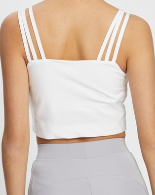 adidas Originals Tank Top - Cropped tops (White)
