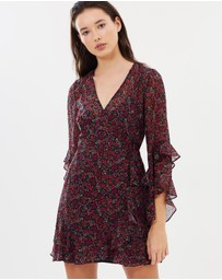 The Fifth Label - Elective LS Wrap Dress