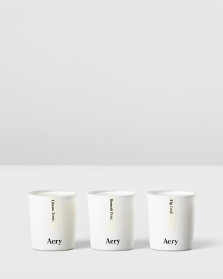 Aery Living Aery Botanical Votive 3 Candle Gift Set - Candles (Green)